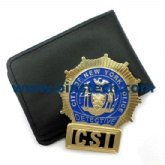 CSI DETECTIVE BADGE